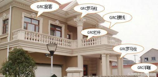 来啦!外墙GRC装饰构件施工工艺,今天你看了吗?