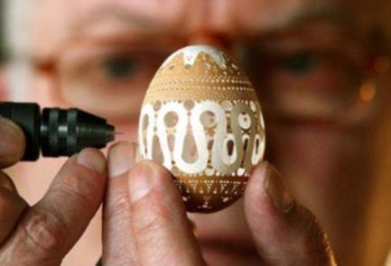 《暑假有得玩啦!精彩绝伦的蛋雕,让孩子不再迷恋手机》