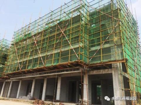 运城水墨江南福运园7月工程播报