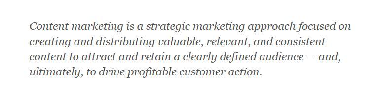 什么是内容营销?