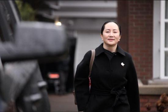 加拿大检方称将孟晚舟引渡到美国的要求已满足