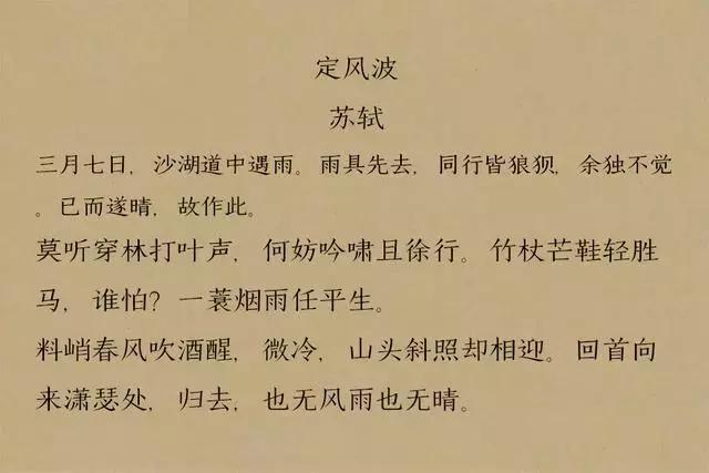 苏轼,苏轼的词,让人百读不厌,道尽人生百味,值得一读