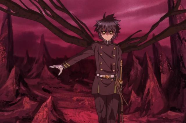 带翅膀的人漫画,终结的炽天使拥有的翅膀数量各不相同,优一郎是双翼,小四是六翼