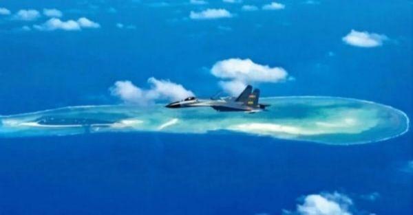 """中美同时在南海行动,日媒惊呼是""""异例"""""""