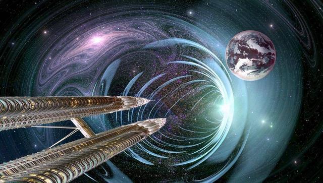 宇宙电梯,在发现了某种材料后有了实现的可能