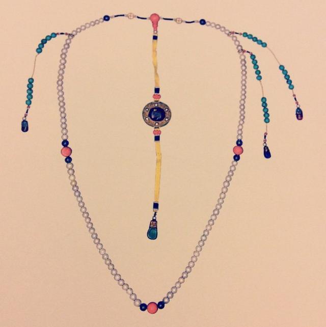 你知道朝珠上最贵最的珠宝是什么吗?