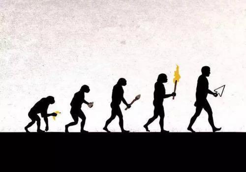 很难说人类从哪一天起其父母是猿人而他的后代是人类