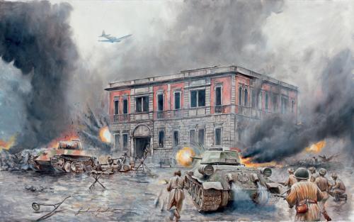 二战时期最后一次战略性决战