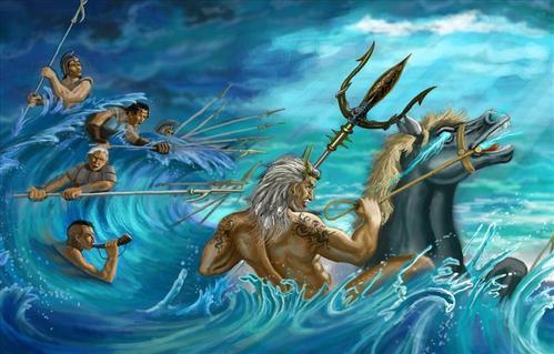 古希腊神话中,你不知道的海神波塞冬