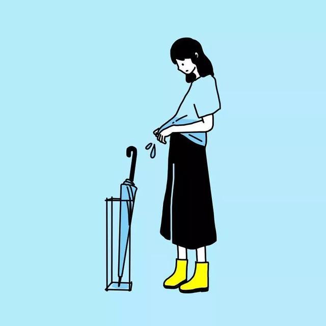围观日本少女博主的ins插画,我看到了一个单身狗的日常