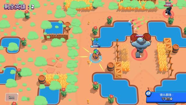 荒野乱斗:艾尔恰鸡教学爱游戏大厅app下载安装,做一个草丛肉盾刺客,苟就完事了(图6)