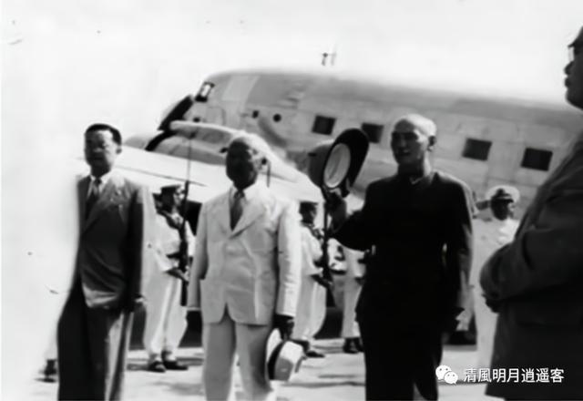 1949丢掉大陆前的蒋介石为何还有闲心出国访问