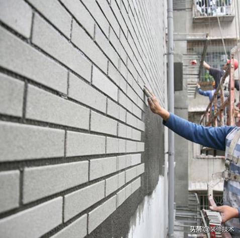 外墙贴瓷砖的施工方法