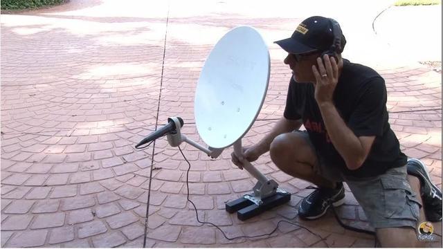废弃卫星天线改造工具方法:蹭网、