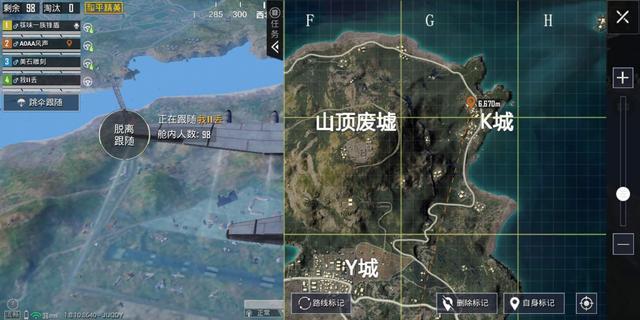 快来看看和平精英海岛20.地图,密室位置标注点