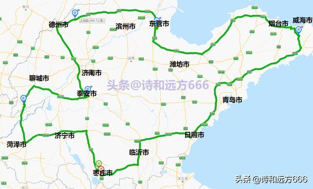 自驾路线干货——山东自驾游经典