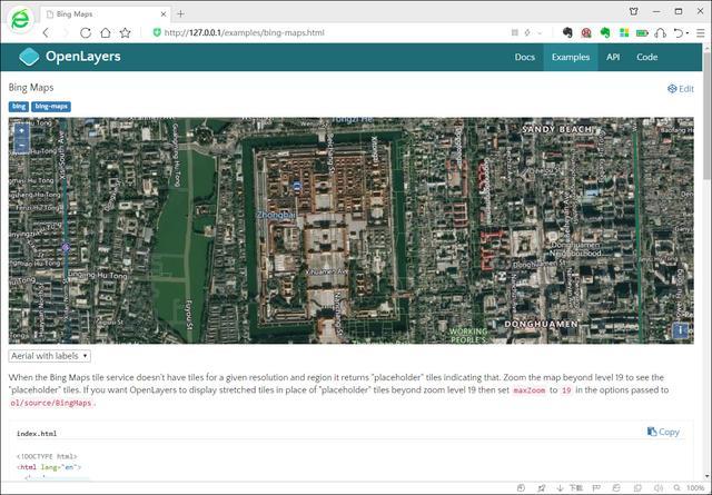 OpenLayers在内网中如何加载显示WeServer发布的离线地图