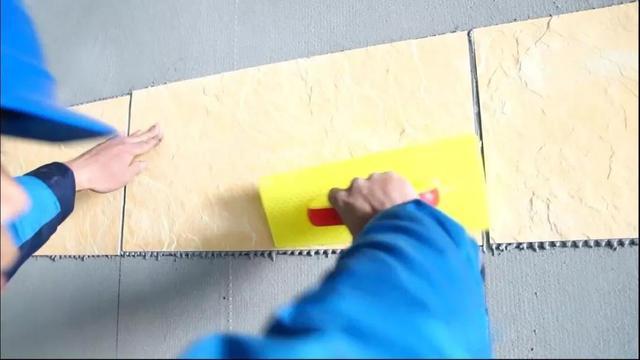 软瓷砖的粘贴方法方法(柔性石材室外粘贴方法之一)
