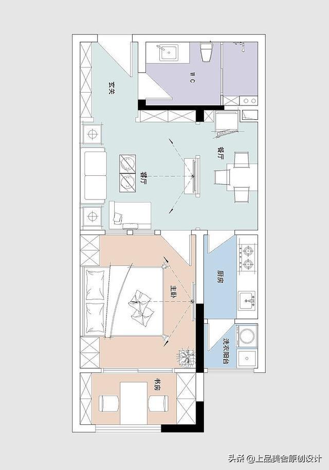 47平米简欧风格,空间的极致利用,给小姐姐一个可靠的避风港湾