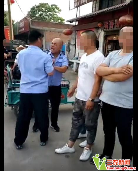 汝州城管酒后肇事打骂人 系临汝镇政府从昇昊公司人员