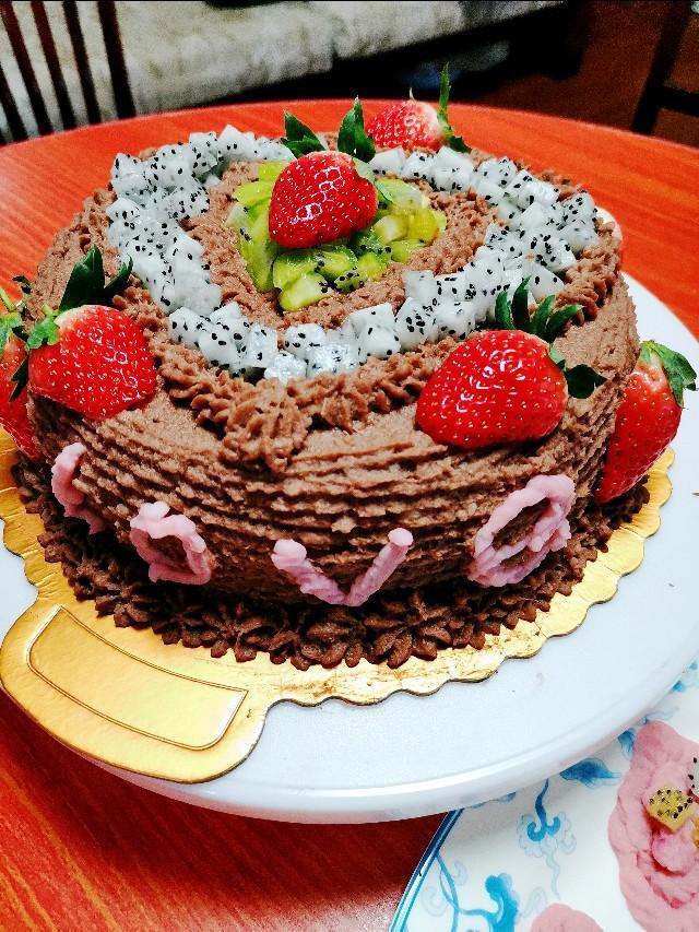 味道造型秒杀好利来,怎么吃都不会胖的营养蛋糕。