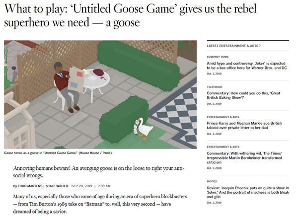 《模拟大鹅》开发商解释为何青睐任天堂Switch平台 PlayStation 游戏资讯 第2张