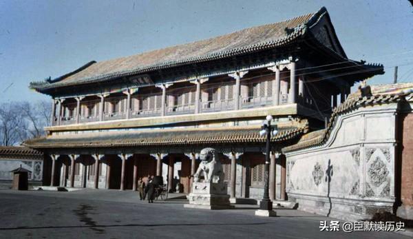 历史老照片,老北京照片你能认识几张,葱茏岁月。(1)
