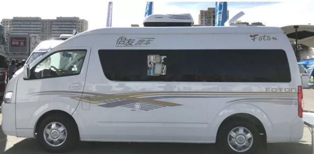侣友福田G9 B型房车 体型不大 功能齐全