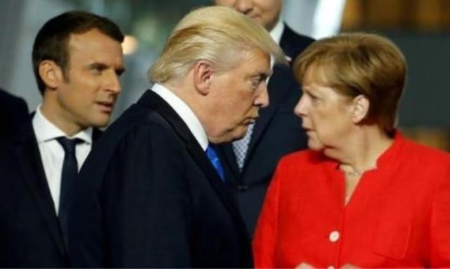 美国这次碰上硬茬,德国绝不妥协,默克尔:要钱没有,想走不送