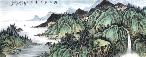 从张大千看王宏山水艺术的传承