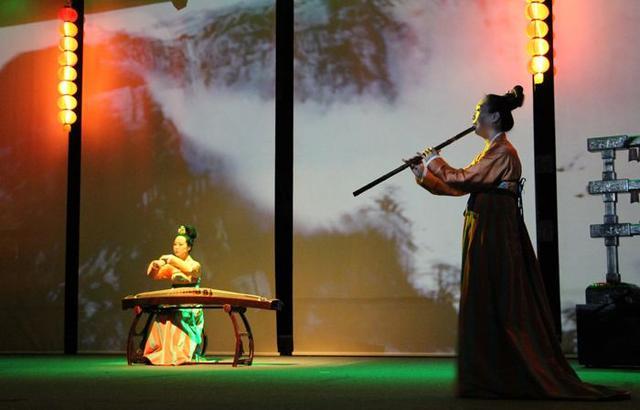 凤求凰古琴曲,凤求凰郑州音乐会,河南博物院华夏古乐团,古典且优雅的音乐