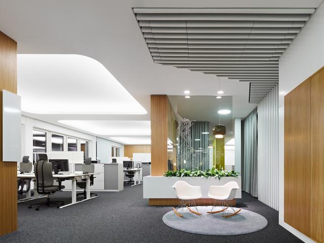 企业公司办公室空间装修设计解析