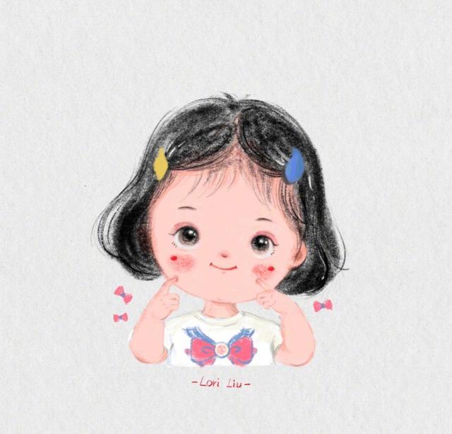【萌娃手绘头像】这组萌娃头像也太可爱了吧魔方甜点壁纸