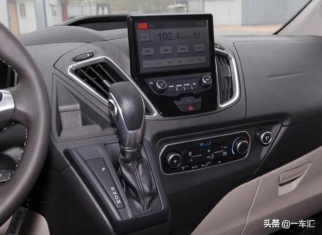 福特新款途睿欧国六版,网友:风格不同,比起别克GL8实用多了