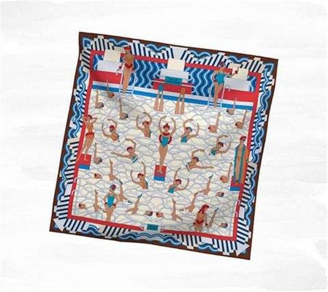 一条爱马仕丝巾的诞生,需要18个月之久?且每一条背后都有小故事