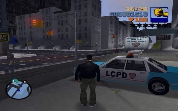 《GTA》系列进化史 画质提升显著,开放世界更大