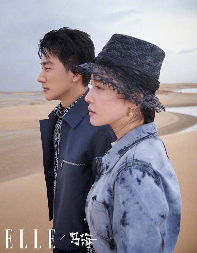 黄轩搭档杨子姗演绎大片,沙漠造型令人过目不忘,气质愈发成熟