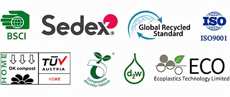 ECO包装袋生产厂家,生物降解、可降解、GRS认证胶袋这里都有!