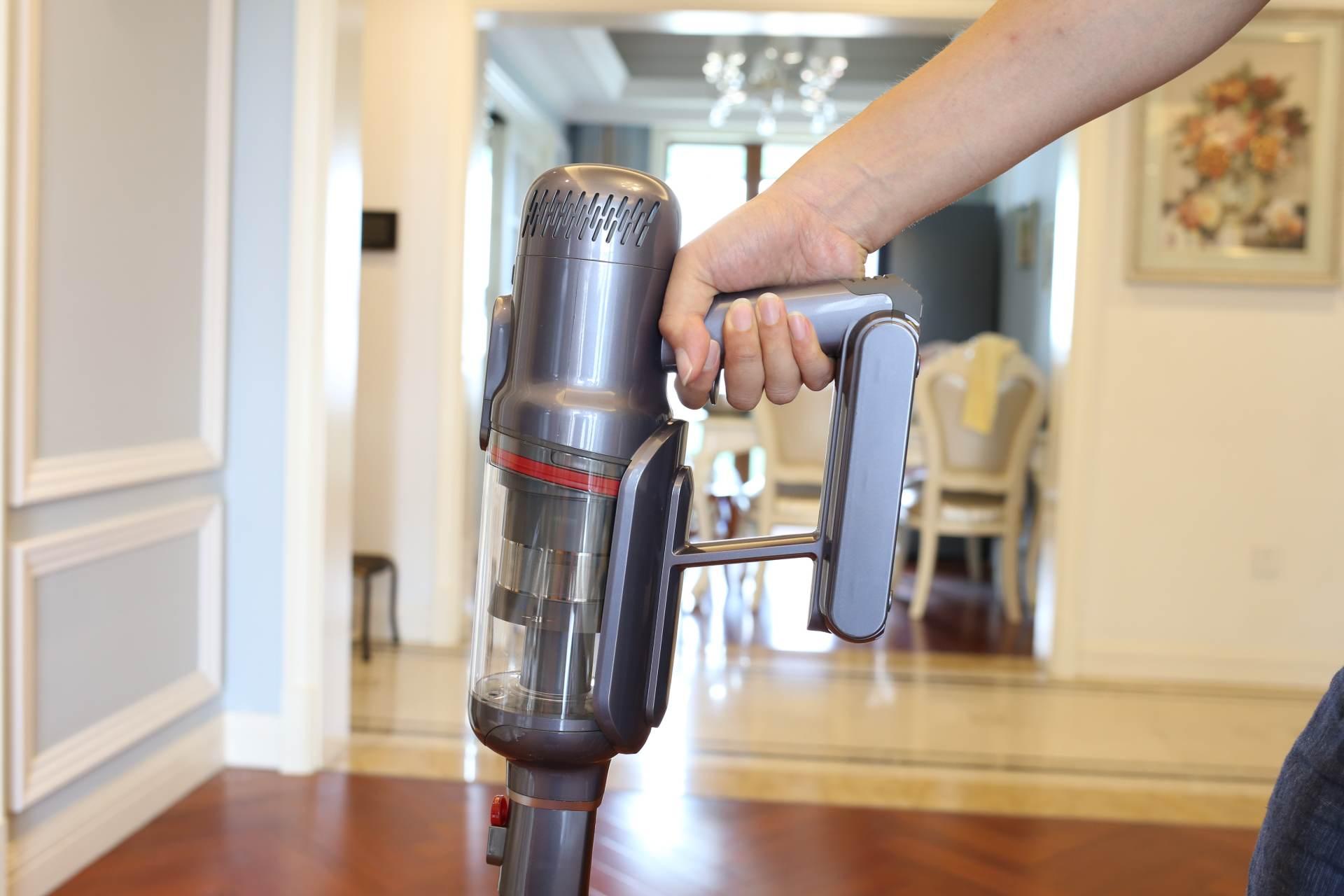 小狗T12 Plus Rinse擦地吸尘器,旋转擦地省时省力