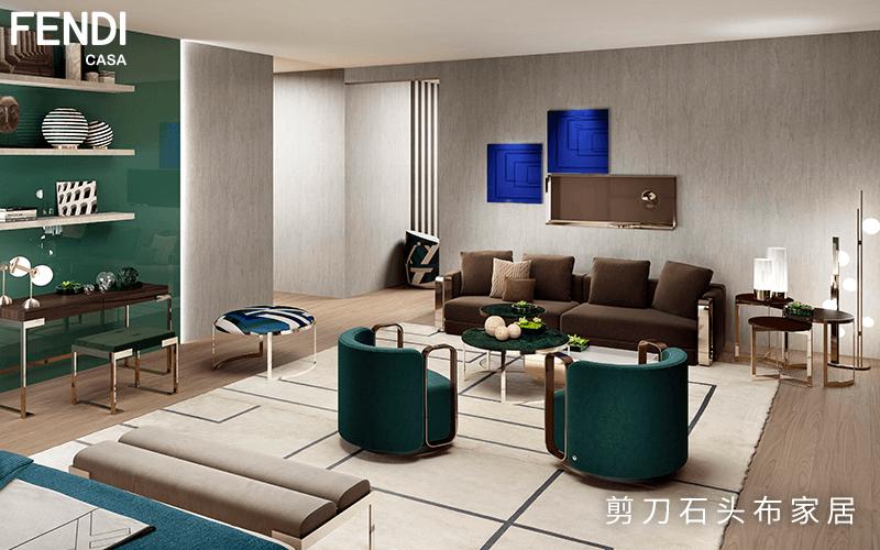 墨绿色家具,源自大自然的优雅与惬意