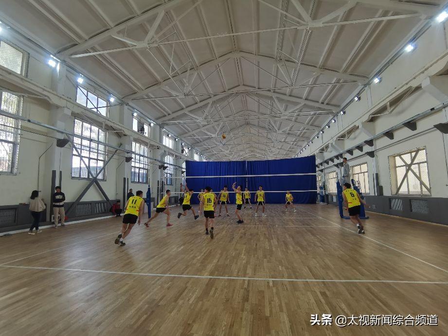 中北大学男排队员参演《夺冠》: 感受女排精神追梦新时代