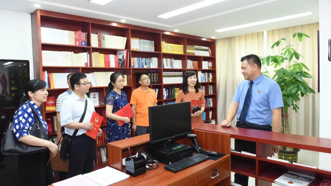 【水韵青检】队伍教育整顿   开门搞整顿,欢迎执法监督员常来常往