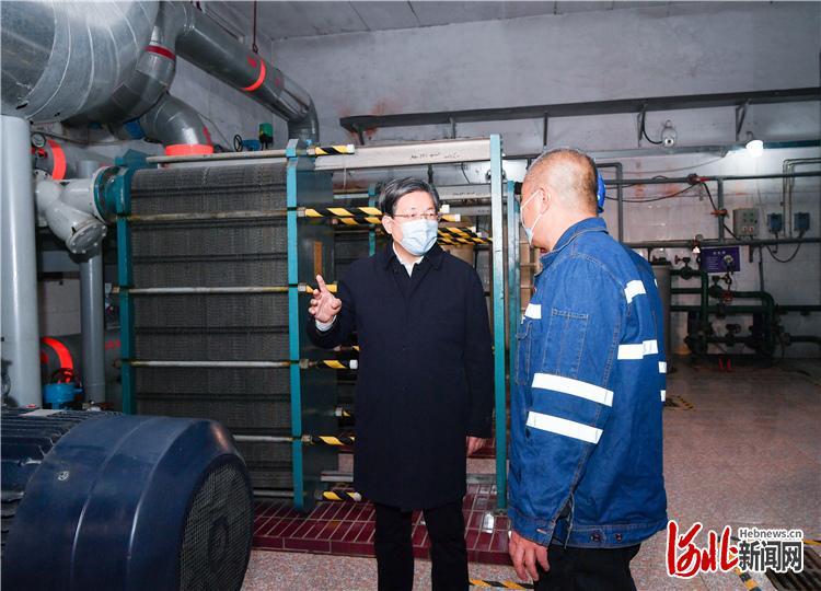 王东峰在石暗访检查供暖工作:时刻关心民生冷暖