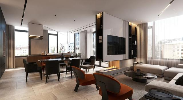 高级私宅设计,完美诠释了新简奢主义