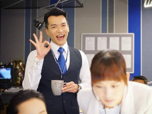 敬业!TVB小生在工作中过生日,新剧饰演警察被称不是好人