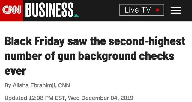"""美国在""""黑五""""连军火都打折,当地人买枪比买菜还勤快..."""
