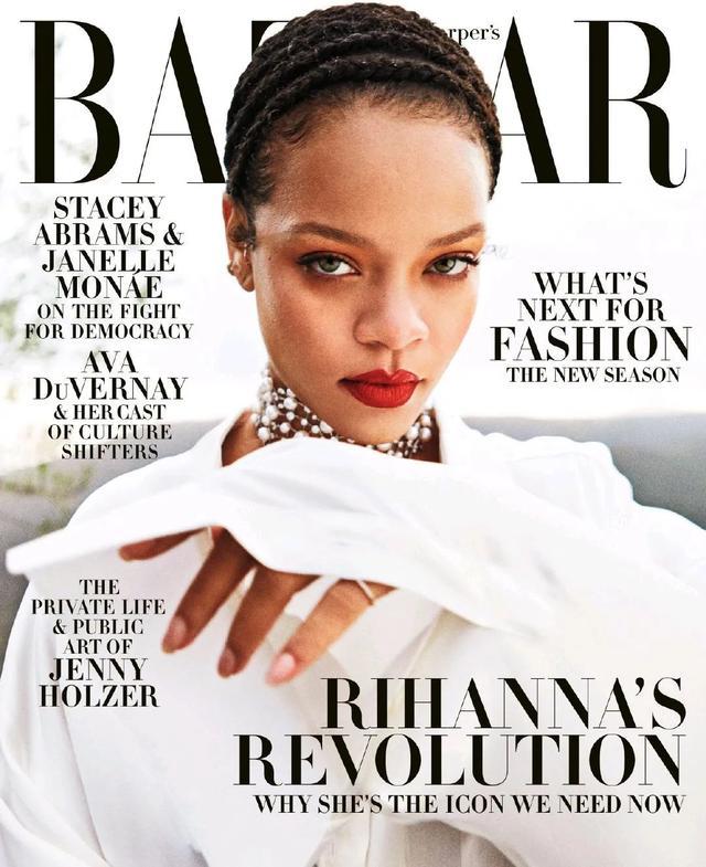 拒绝Rihanna,中国版《芭莎时尚》不加入全球企划