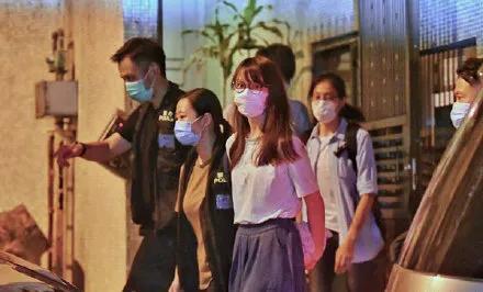 涉嫌违反香港国安法,黎智英、周庭等被拘捕 香港各界:支持警方严正执法