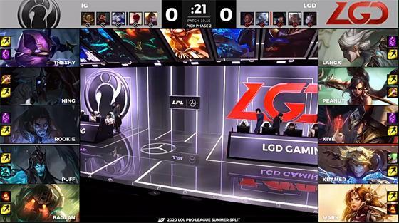 LOL-LPL:Mark三局前期灵动游走节奏起飞,LGD3-0横扫iG晋级四强
