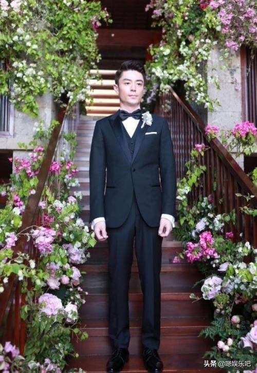 男星婚礼上的西装设计,张若昀沉稳绅士、罗晋浪漫用心